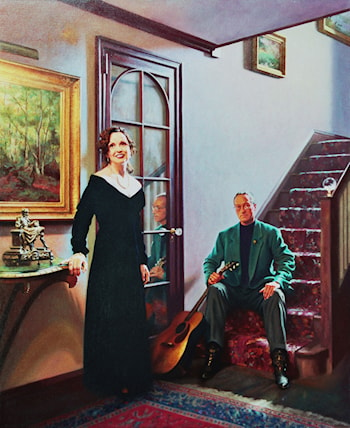 Bill and Marie Stinson by Richard  Whitney