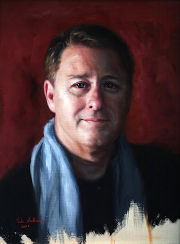 Portrait of Darren, The artist's brother by Vicki Sullivan