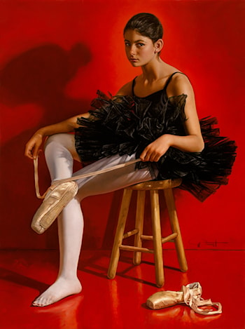Allegra's Portrait as Ballerina by Gabriel Picart
