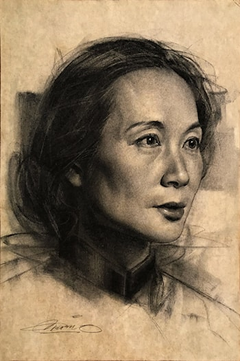 Portrait of Jian Li by Charles Miano