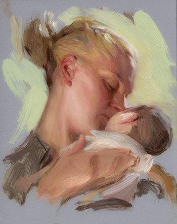 Untitled Mother by Ricardo Mujica