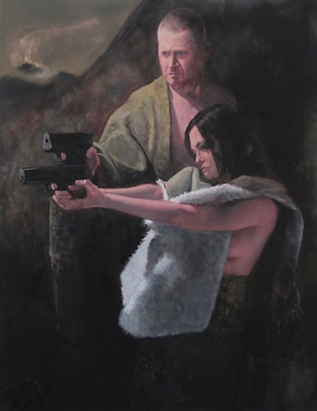 Armed Couple by Robert Dale Williams