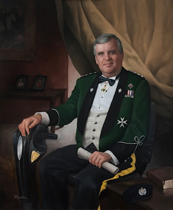 Lieutenant Governor of Ontario, Hon. D. Onley by Juan Martínez