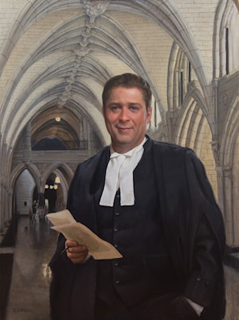 Honourable A. Scheer, Speaker of House, Govt. of Canada by Juan Martínez
