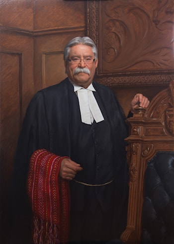 Honourable D. Levac, Speaker, Govt. of Ontario, Canada by Juan Martínez