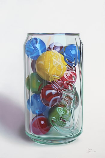 Marbles and Coke by Carlos Bruscianelli Torrealba