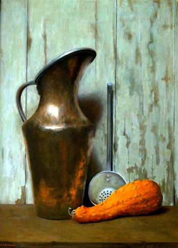 Copper Pitcher by Sandy Sherman
