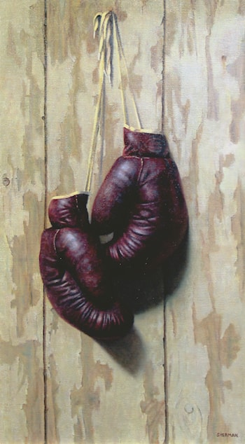 Boxing Gloves by Sandy Sherman