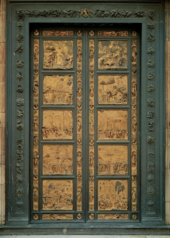 Eastern Door of the Baptistry by Lorenzo Ghiberti