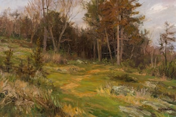 Cedars in Springtime by Mary Pettis