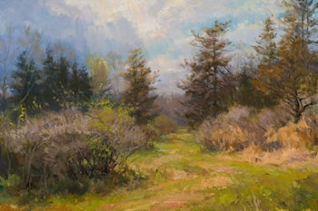 Spring Path by Mary Pettis