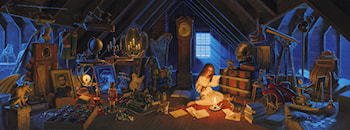 The Christmas Attic by Gregory Hildebrandt