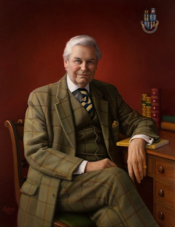 Portrait of Richard Sowler by Svetlana Cameron