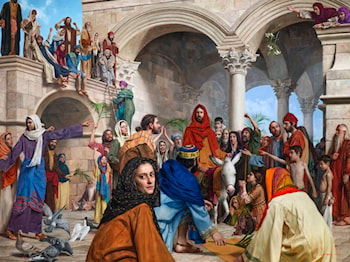 Triumphal Entry by Jeff Hein