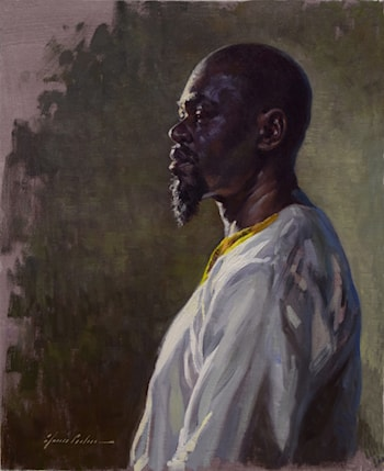 Man from Senegal by Garin Baker