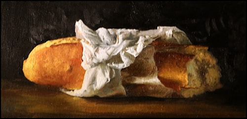 Bread Still Life Study
