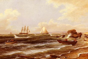Going Ashore by Thomas Birch