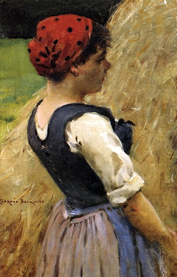 Normandy Girl by James Carroll Beckwith