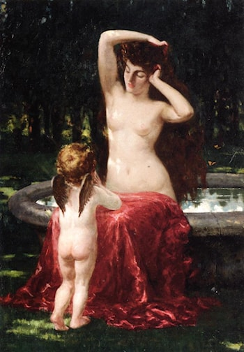 Sylvan Toilette by James Carroll Beckwith
