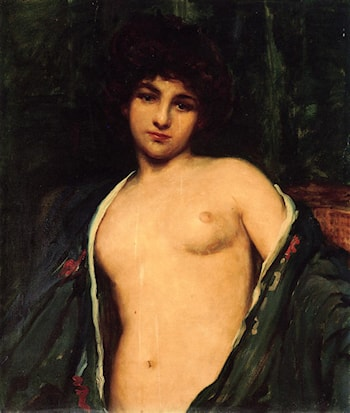 Portrait of Evelyn Nesbitt by James Carroll Beckwith