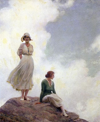 The Boulder by Charles Courtney Curran