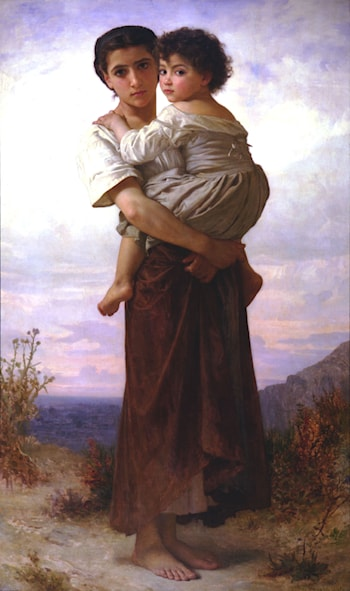 Jeunes Bohemiennes by William Adolphe Bouguereau