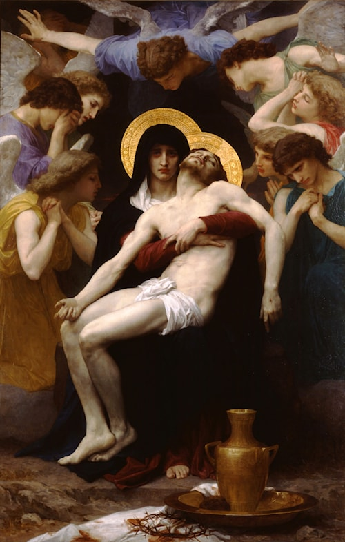 Pieta by William Bouguereau