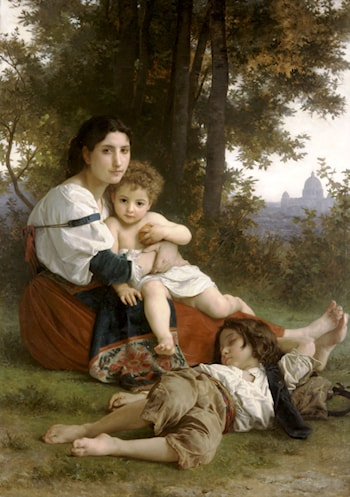 Le Repos by William Adolphe Bouguereau