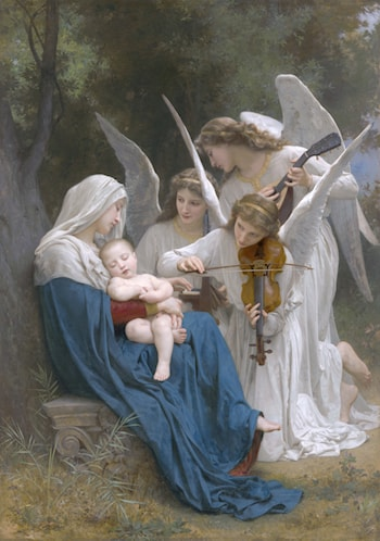 La Vierge aux Anges by William Adolphe Bouguereau