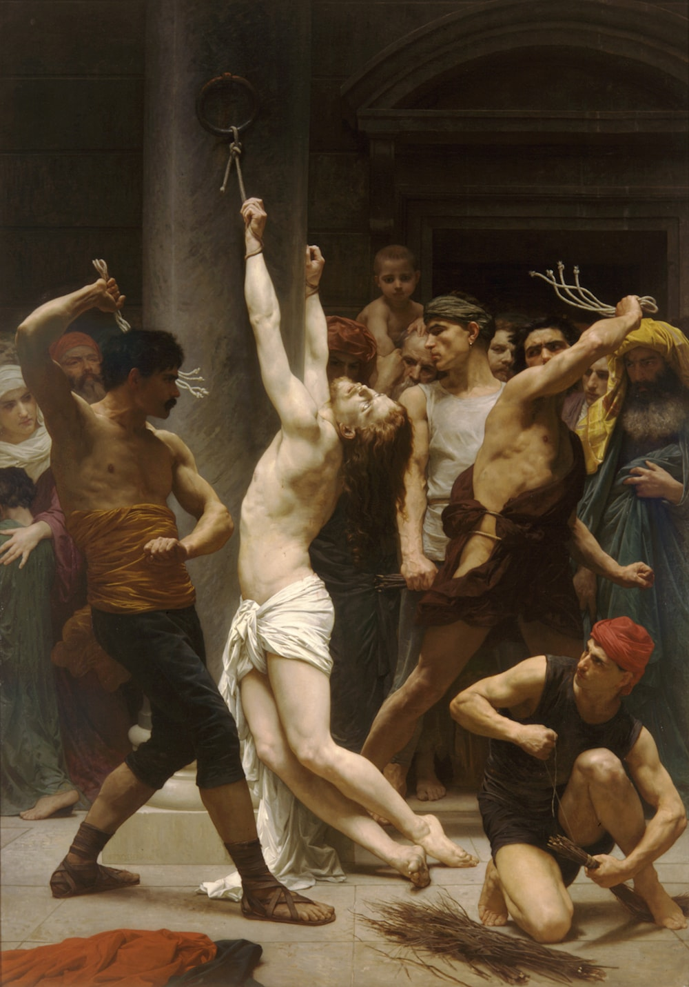 Where is william-adolphe bouguereau. the flagellation of our lord jesus christ