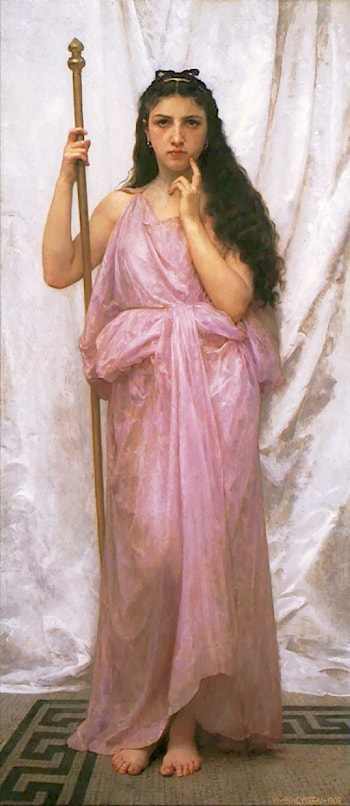 Jeune Prêtresse by William Adolphe Bouguereau