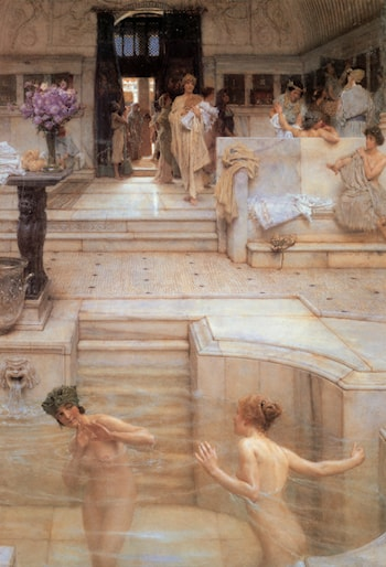 A Favourite Custom by Lawrence Alma-Tadema