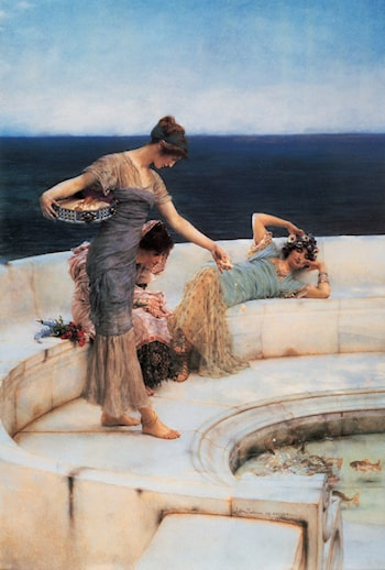 Silver Favorites by Lawrence Alma-Tadema