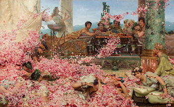 The Roses of Heliogabalus by Lawrence Alma-Tadema