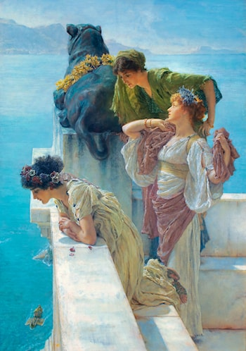 A Coign of Vantage by Lawrence Alma-Tadema
