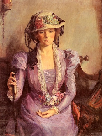 The Lady In Lavender by Mary Bradish Titcomb