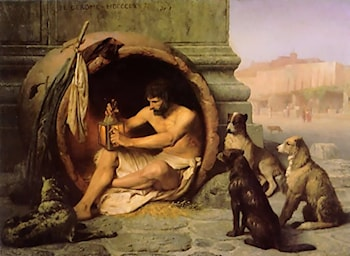 Diogenes by Jean-Leon Gerome