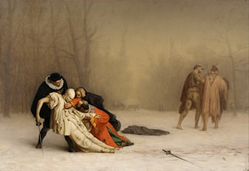 Duel After a Masquerade by Jean-Léon Gérôme