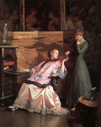 The New Necklace by William McGregor Paxton