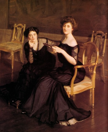 The Sisters by William McGregor Paxton