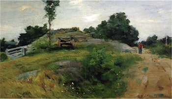 Connecticut Scene by Julian Alden Weir