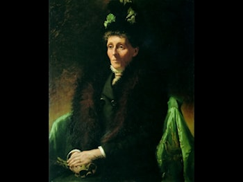Portrait of the artist's mother, Maria Goldie by Charles Goldie