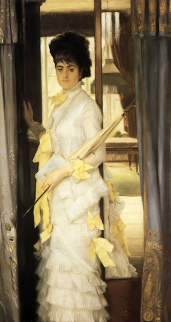 Portrait of Miss Lloyd by James Jacques Joseph Tissot