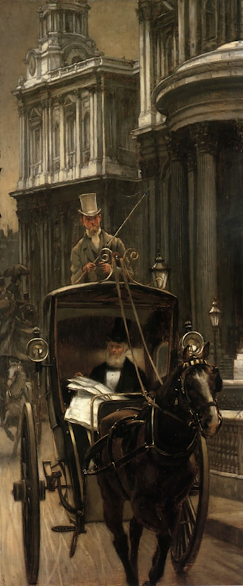 Going to Business by James Jacques Joseph Tissot