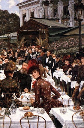 The Artist's Ladies by James Jacques Joseph Tissot