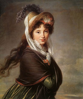 Portrait of a Young Woman by Louise Élisabeth Vigée-Le Brun