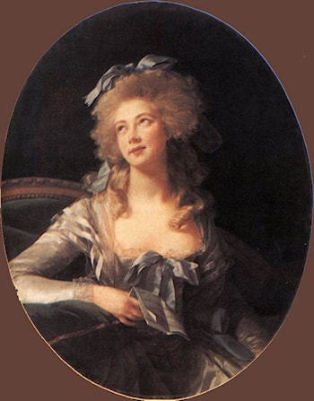 Portrait of Madame Grand by Louise Élisabeth Vigée-Le Brun