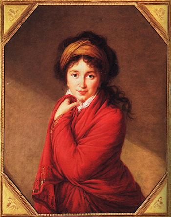 Portrait of Countess Golovine by Louise Élisabeth Vigée-Le Brun