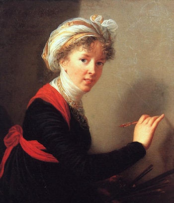 Self Portrait by Louise Élisabeth Vigée-Le Brun
