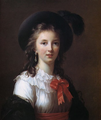 Self Portrait ­ age 26 by Louise Élisabeth Vigée-Le Brun
